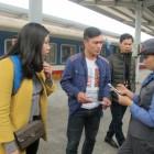 Đường sắt giảm mạnh giá vé cho đoàn viên công đoàn